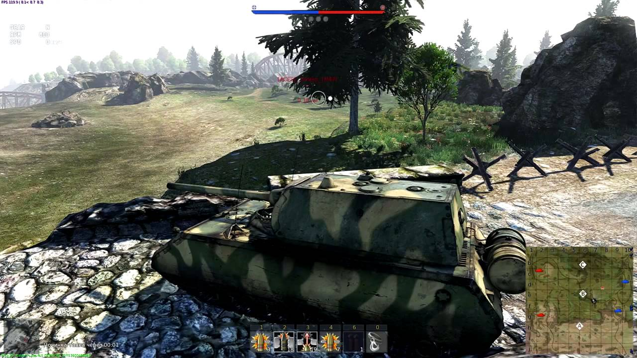 War thunder maus