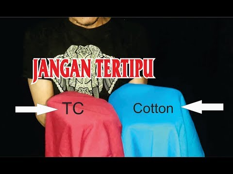 Review Kaos Polos Cotton Combed, Kardet, Tc | Sablon