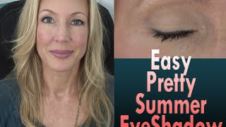 Easy Pretty Summer Eyeshadow Tutorial Thumbnail