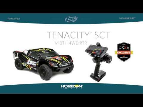 Losi: TENACITY SCT RTR, AVC: 1/10 4WD BLACK/Yellow: Losi (LOS03010T1)