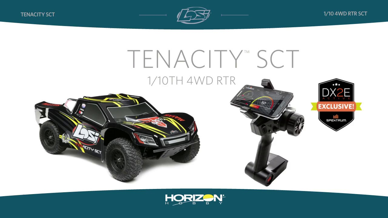 Losi 1/10 TENACITY SCT 4WD RTR with AVC