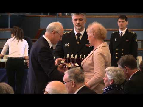 Ushakov Medal Presentation