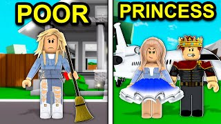 POOR to PRINCESS In Roblox Brookhaven..