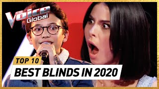 The BEST Blind Auditions of 2020 in The Voice Kids | The Voice Kids Rewind