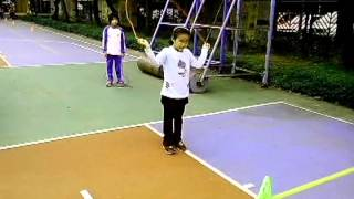 循序漸進的跳繩教學