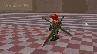 HOW TO DO THE SPEED GLITCH THE UPDATED WAY VERSION 49+ (ROBLOX SWORD BURST 2)