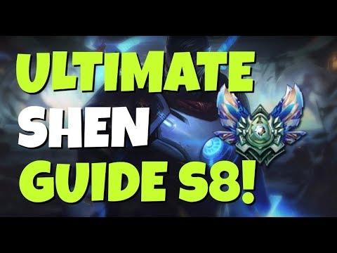 ULTIMATE SHEN GUIDE! League of Legends Season 8!