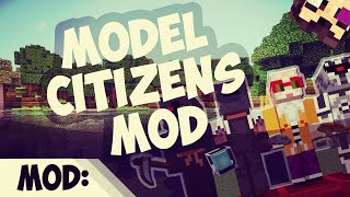 Model Citizens Mod - Todos Los Youtubers - 1.7.10 Minecraft