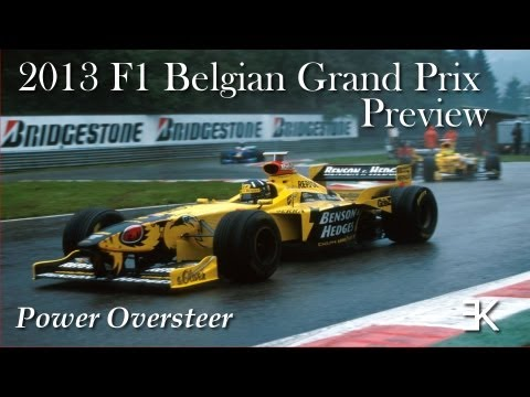 Power Oversteer: 2013 F1 Belgian Grand Prix Preview