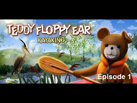 Teddy Floppy Ear - Kayaking |