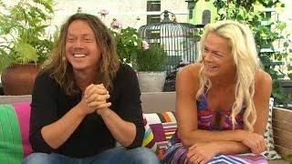 Malena Ernman och Svante Thunberg om konsten att vara ett par och arbeta ihop - Nyhetsmorgon (TV4)