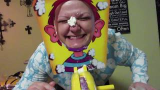 FAMILY FUN WITH PIE FACE!