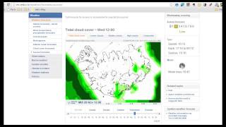 Northern Lights in Iceland - How to use the Aurora Forecast