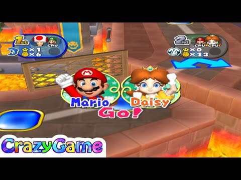 Mario Party 7 Bowser's Enchanted Inferno #4 (Master Difficult)