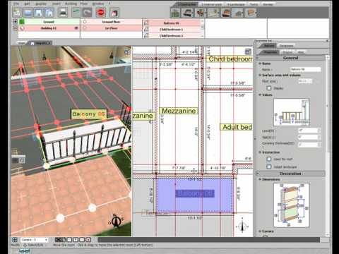 3D Home Design By Livecad Tutorials 11 Balcony Part 48