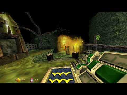 Turok 2: Seeds of Evil (Remaster) Blasting through the Death Marshes (Crimson ReLive Demo) |