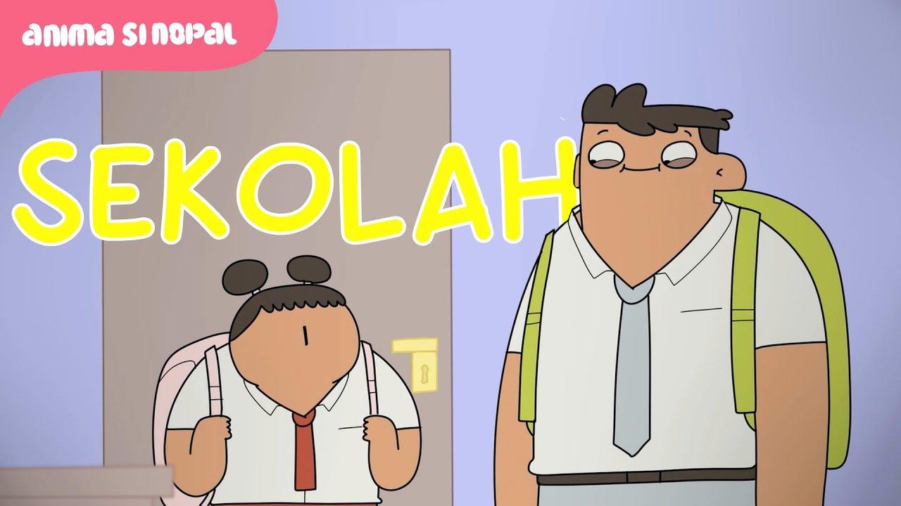 Gambar Kartun Anak Sekolah Sma Keren Nusagates