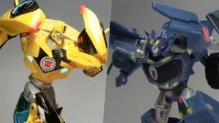 トランスフォーマーアドベンチャー バンブルビーVSスチールジョー (RID: Bumblebee VS Steeljaw)