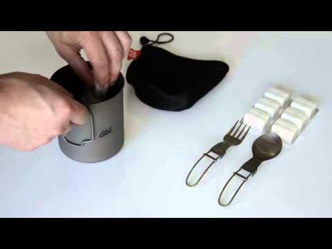Esbit Intro Titanium Pot PT750 TI - YouTube 90f1d21622337