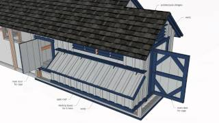 L200 - Large Chicken Coop Plans Free - Chicken Coop Plans Construction