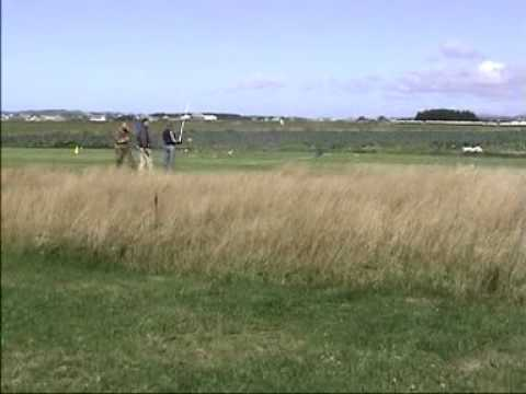 RC turbine jet crashes in field