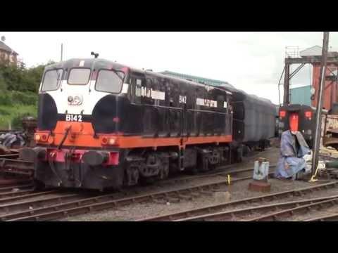 Ex IE 141 Class GM 142 - Shunting - Whitehead 13/8/16
