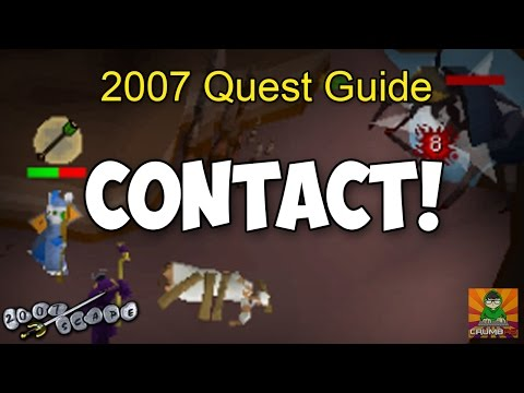Runescape 2007 Contact! Quest Guide