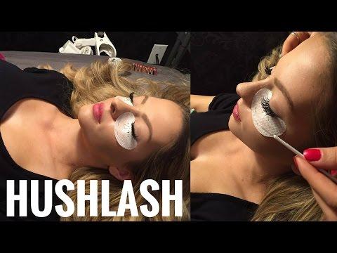 Hush Lash Vlog | Ashley Resch