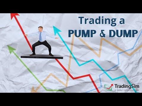 Day Trading a Pump and Dump | Tradingsim.com