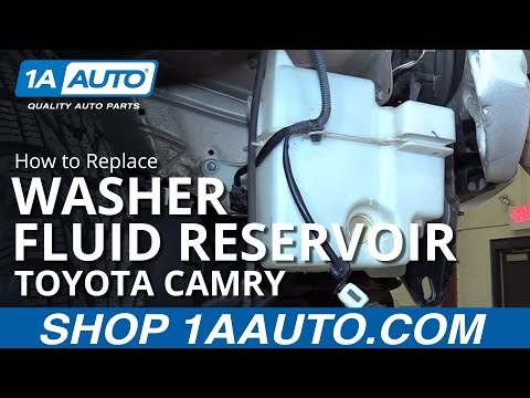 how to replace washer fluid reservoir 97 01 toyota camry youtube  how to replace washer fluid reservoir 97 01 toyota camry