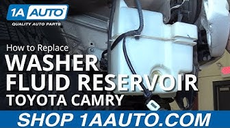 How to Replace Washer Fluid Reservoir 97-01 Toyota Camry