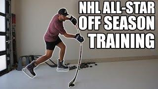 Hockey player Off Season Training With an NHL All-Star