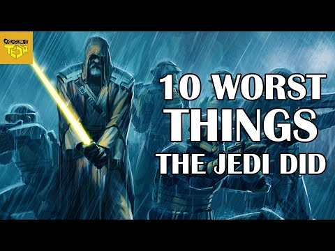 10 Terrible Things the Jedi Order Did