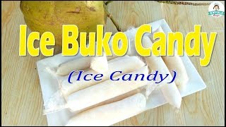 Ice Buko Candy