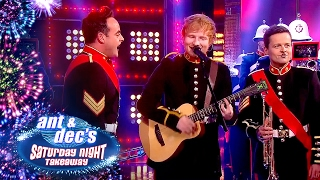 Ed Sheeran, Ant & Dec & the Royal Marines' Unbelievable Performance - Saturday Night Takeaway