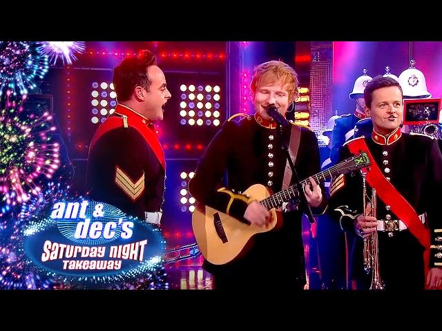 Ed Sheeran, Ant & Dec & the Royal Marines' Unbelievable Performance - Saturday Night Takeaway