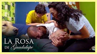La Rosa de Guadalupe: Lola le provoca la muerte a su suegro   Mi abuelo y él
