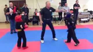 Irish Open Kenpo Karate Championships 2014 Fight No.2