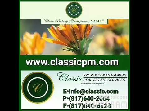 Owners If you're the owner of income real estate in the Dallas/Fort Worth metroplex, Classic Propert