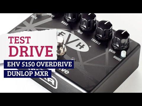 GTR EXP - Test Drive - MXR EVH 5150 Overdrive
