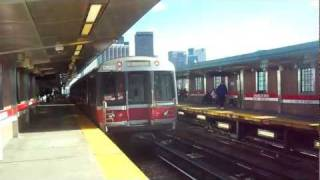 Red Line Subway in Boston