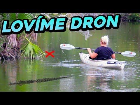 Vylovili jsme drona??? Jde na nás Hurikán Irma!!!