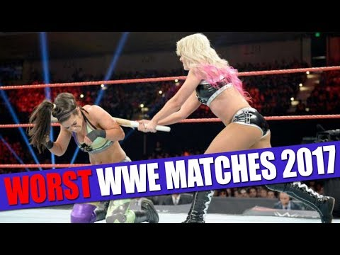 10 Worst WWE PPV Matches of 2017!