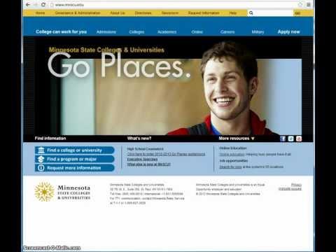 Finding an Online Program or Degree - mnscu.edu/online