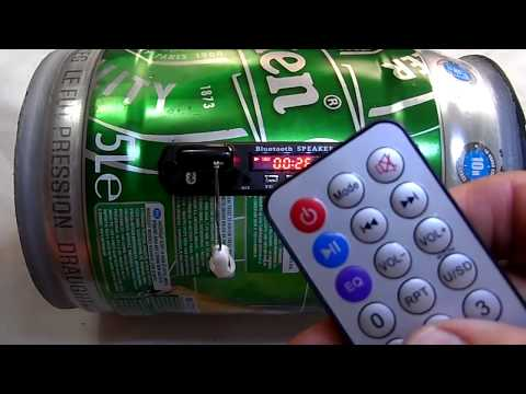 Placa Leitor De USB FM / Bluetooth / Aux P2 Frontal