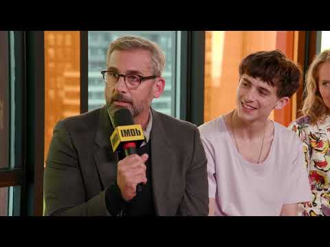 Steve Carell, Timothée Chalamet and Amy Ryan Funny TIFF   TIFF 2018