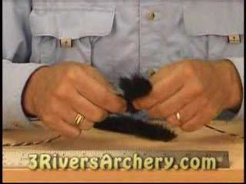 3Rivers Archery Fur String Silencers