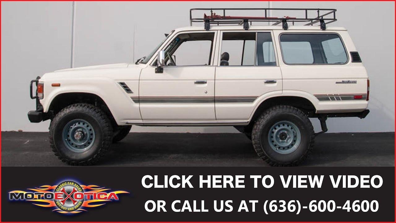1985 Toyota Fj60 Land Cruiser Sold Youtube