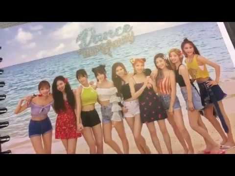 Unboxing TWICE Summer Nights goods from the pop-up store