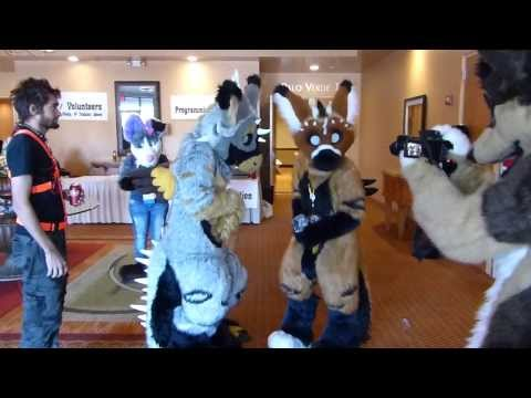 Telephone and Radio Chirp Chirp at Arizona Fur Con 2013.